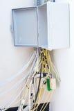 Электрические коробки стоковое фото