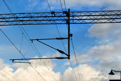 электрические проводы Стоковая Фотография
