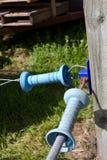 Электрические соединения загородки Стоковая Фотография RF