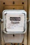 электрические счетчики Стоковые Фото
