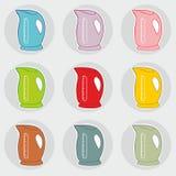 электрические чайники Стоковые Фотографии RF