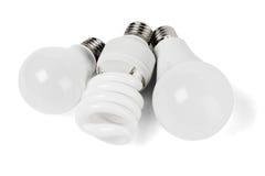 Электрические электрические лампочки Стоковые Изображения RF