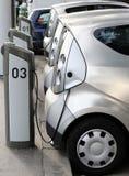 Электрический автомобиль Стоковые Изображения