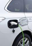 Электрический автомобиль стоковое фото rf