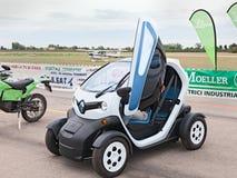 Электрический автомобиль Renault ZE Twizy города Стоковые Фото