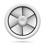 Электрический вентилятор Стоковые Фотографии RF