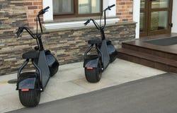 Электрический велосипед Стоковое Фото