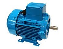 Электрический двигатель на белизне стоковые изображения rf