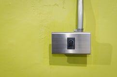 Электрический выключатель затемнения Стоковая Фотография
