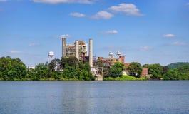 Электрический завод пара Стоковые Изображения RF