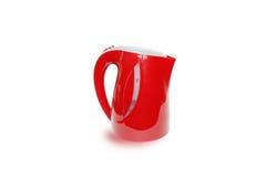 Электрический красный чайник Стоковые Изображения RF