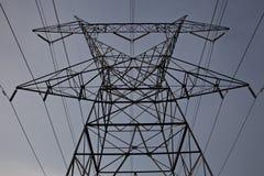 Электрический крупный план башни горизонтальный Стоковые Фото