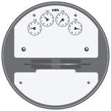 электрический метр Стоковое фото RF