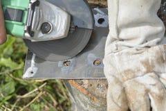 Электрический молоть колеса Стоковое фото RF