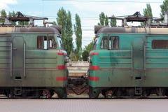 Электрический поезд Стоковая Фотография