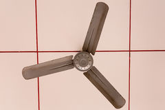Электрический потолочный вентилятор над сенью на событии Стоковое Изображение RF