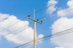 электрический полюс стоковое изображение rf