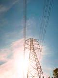 Электрический поляк и поляк высокого напряжения Стоковые Фотографии RF
