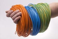 электрический провод Стоковая Фотография RF