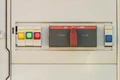 Электрический распределительный ящик Стоковое Изображение RF