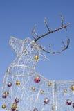 Электрический северный олень рождества Стоковое Изображение RF