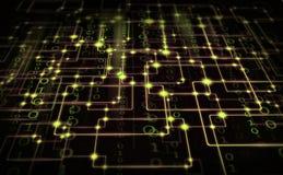 Электрический синапс Стоковые Фотографии RF