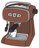 Электрический создатель эспрессо бесплатная иллюстрация