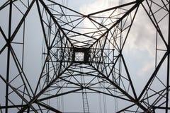 электрический столб Стоковая Фотография RF
