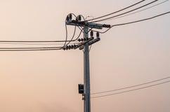 электрический столб Стоковое фото RF
