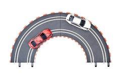 Электрический след автомобиля шлица Стоковая Фотография RF