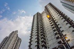 Электрический уличный фонарь Стоковая Фотография RF