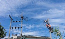 электрический человек стоковые фотографии rf