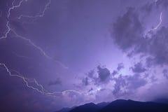 электрический шторм Стоковая Фотография