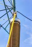 электрическое высокое напряжение тока амортизатора Стоковая Фотография RF