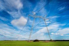 электрическое высокое напряжение тока штендера Стоковые Изображения RF