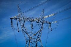 электрическое высокое напряжение тока штендера Стоковая Фотография