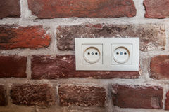 Электрическое гнездо Стоковое Фото