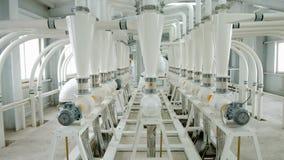 Электрическое машинное оборудование мельницы для продукции пшеничной муки Оборудование зерна зерно Сельское хозяйство промышленно Стоковые Изображения