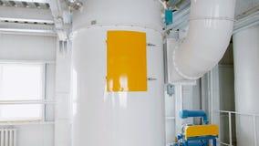 Электрическое машинное оборудование мельницы для продукции пшеничной муки Оборудование зерна зерно Сельское хозяйство промышленно Стоковые Фото