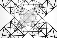 электрическое напряжение тока высокой башни Стоковое Изображение RF