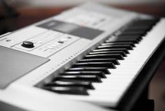 Электрическое keybord музыки стоковое изображение rf