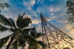 Электричество в жилой площади стоковая фотография
