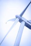 Электричество производя ветрянку стоковые фотографии rf