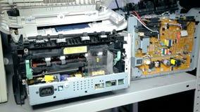 Электроника пролома средней съемки старая видеоматериал