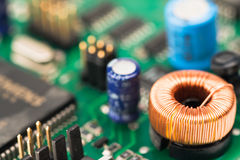 Электроника разделяет 6 Стоковое Изображение RF
