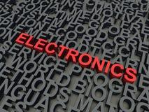 Электроника иллюстрация вектора