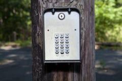 Электронная кнопочная панель Стоковые Фото