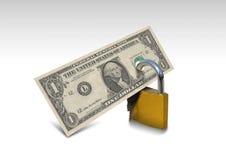 Электронная коммерция безопасностью денег стоковые фотографии rf