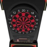Электронная машина Dartboard на белизне иллюстрация 3d Стоковые Фото