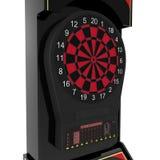Электронная машина Dartboard на белизне иллюстрация 3d Стоковое Изображение RF